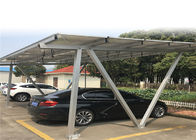 PV Panel Carport Solar Systems Galvanized Anodized Surface Treatment Customized Size